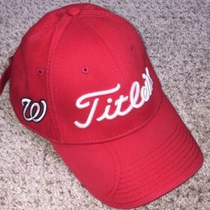 Titleist Washington Nationals One-Size Golf Hat